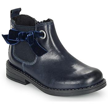 Boty Dívčí Kotníkové boty André VAL Tmavě modrá