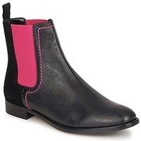 Boty Ženy Kotníkové boty Moschino Cheap & CHIC CA2112 Černá / Růžová