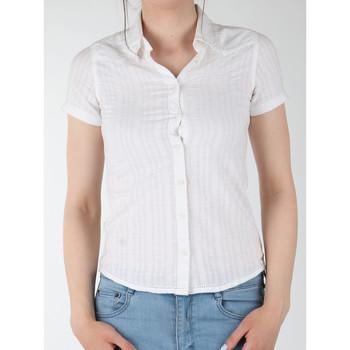 Textil Ženy Košile / Halenky Wrangler Sammy W5021CA12 white