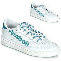 Boty Ženy Nízké tenisky Reebok Classic CLUB C 86 Bílá / Modrá