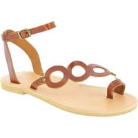 Boty Ženy Sandály Attica Sandals APHRODITE CALF DK-BROWN marrone
