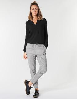 Textil Ženy Mrkváče Only ONLPOPTRASH Černá / Bílá