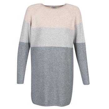 Textil Ženy Krátké šaty Only ONLLILLO Šedá / Růžová