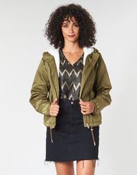 Textil Ženy Bundy Only ONLNEWCALLY Khaki