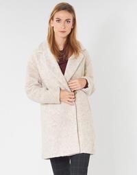 Textil Ženy Kabáty Only ONLNINA Béžová
