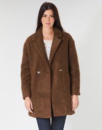 Textil Ženy Kabáty Only ONLNINA Hnědá