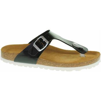 Boty Ženy Žabky Salamander Dámské pantofle  32-13007-41 black Černá