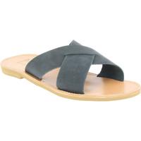 Boty Muži Dřeváky Attica Sandals ORION NUBUCK BLACK nero