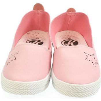 Boty Ženy Street boty Kylie Dámske ružové poltopánky LIMONA ružová