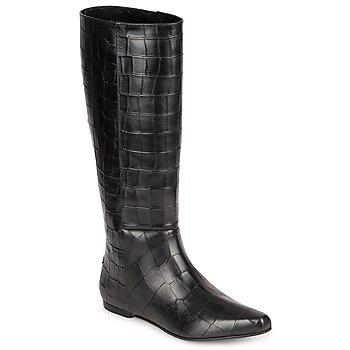 Boty Ženy Kozačky Roberto Cavalli SPS749 Černá