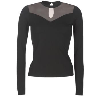 Textil Ženy Halenky / Blůzy Moony Mood LAMELI Černá