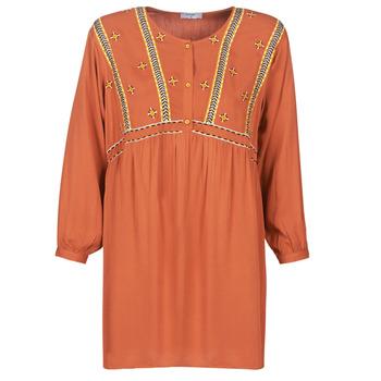 Textil Ženy Krátké šaty Betty London LOULIA Oranžová