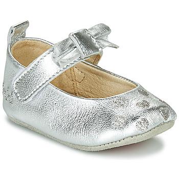 Boty Dívčí Papuče Catimini CORIDA Stříbrná