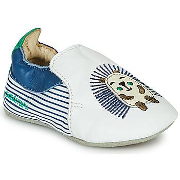 Boty Chlapecké Papuče Catimini COFFI Bílá / Modrá / Zelená