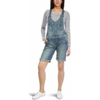 Textil Ženy Overaly / Kalhoty s laclem Lee L326OECY blue