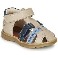 Boty Chlapecké Sandály GBB DIMMI Béžová / Modrá