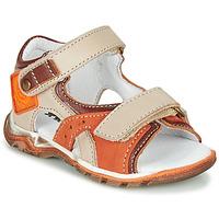 Boty Chlapecké Sandály GBB EROPE Béžová / Oranžová