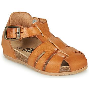 Boty Chlapecké Sandály GBB FREDERICO Zlatohnědá