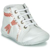 Boty Dívčí Kotníkové boty GBB ACINTA Bílá