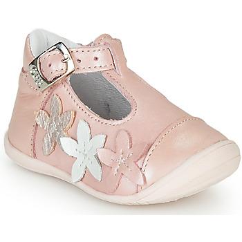 Boty Dívčí Baleríny  GBB AGATTA Růžová