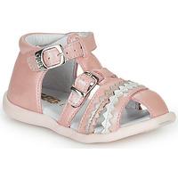 Boty Dívčí Sandály GBB ALIDA Růžová