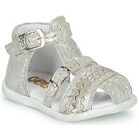 Boty Dívčí Sandály GBB ALIDA Béžová
