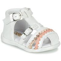 Boty Dívčí Sandály GBB ALIDA Bílá