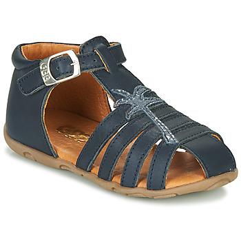 Boty Dívčí Sandály GBB ANAYA Modrá