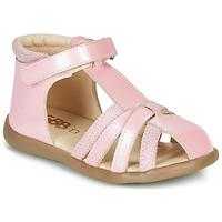 Boty Dívčí Sandály GBB AGRIPINE Růžová