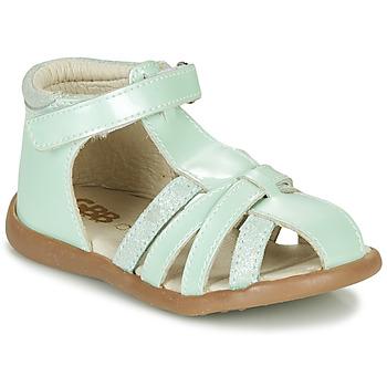 Boty Dívčí Sandály GBB AGRIPINE Zelená