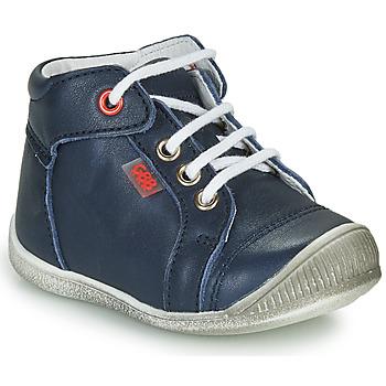 Boty Chlapecké Kotníkové tenisky GBB PARGA Tmavě modrá