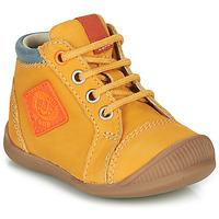Boty Chlapecké Kotníkové tenisky GBB TARAVI Žlutá