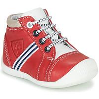 Boty Chlapecké Kotníkové tenisky GBB GABRI Červená