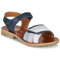 Boty Dívčí Sandály GBB MIMOSA Tmavě modrá