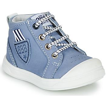 Boty Chlapecké Kotníkové tenisky GBB GREGOR Modrá