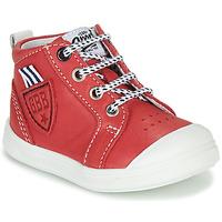 Boty Chlapecké Kotníkové tenisky GBB GREGOR Červená