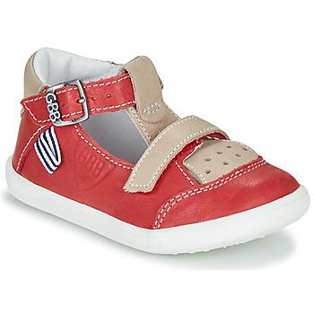 Boty Chlapecké Sandály GBB BERETO Červená