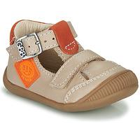 Boty Chlapecké Sandály GBB BOLINA Béžová / Oranžová