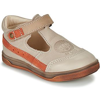 Boty Chlapecké Sandály GBB ANGOR Béžová / Oranžová
