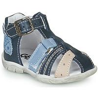 Boty Chlapecké Sandály GBB BYZANTE Modrá
