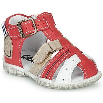 Boty Chlapecké Sandály GBB BYZANTE Červená
