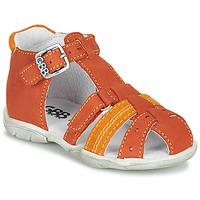 Boty Chlapecké Sandály GBB ARIGO Oranžová