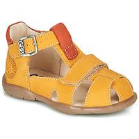 Boty Chlapecké Sandály GBB SEROLO Žlutá / Oranžová