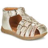 Boty Dívčí Sandály GBB PERLE Zlatá