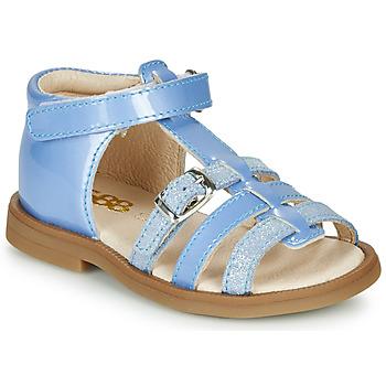Boty Dívčí Sandály GBB ANTIGA Modrá