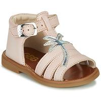 Boty Dívčí Sandály GBB ARAGA Růžová