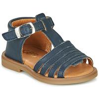 Boty Dívčí Sandály GBB ATECA Modrá