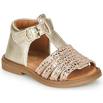 Boty Dívčí Sandály GBB ATECA Zlatá