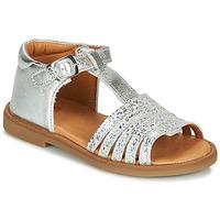 Boty Dívčí Sandály GBB ATECA Stříbrná
