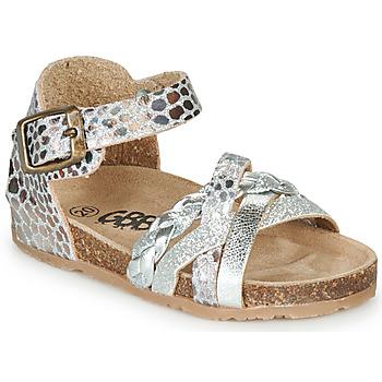 Boty Dívčí Sandály GBB ALECTA Stříbrná